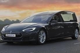 Rouwauto Tesla