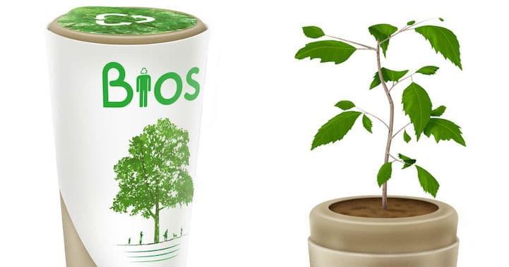 Natuurlijke en duurzame urn